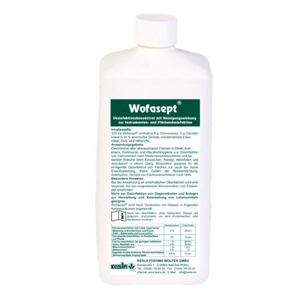 Wofasept® Desinfektionskonzentrat