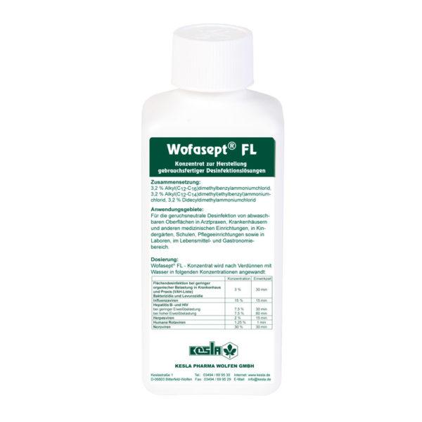 Flächendesinfektion Wofaspet FL Konzentrat